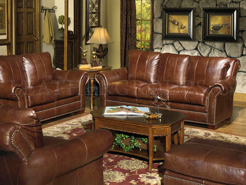 Vernazza Leather Furniture Set at LeatherGroups.com