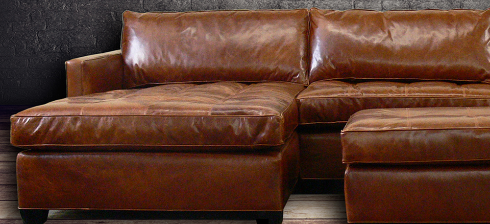 Leather furniture leather sofas leather chairs leather for Arizona leather sectional sofa with chaise