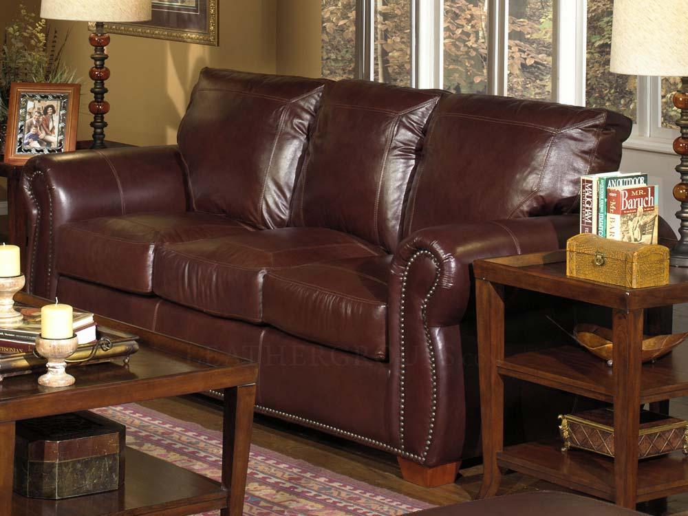 Massimo 100 Full Top Grain Leather Sofa