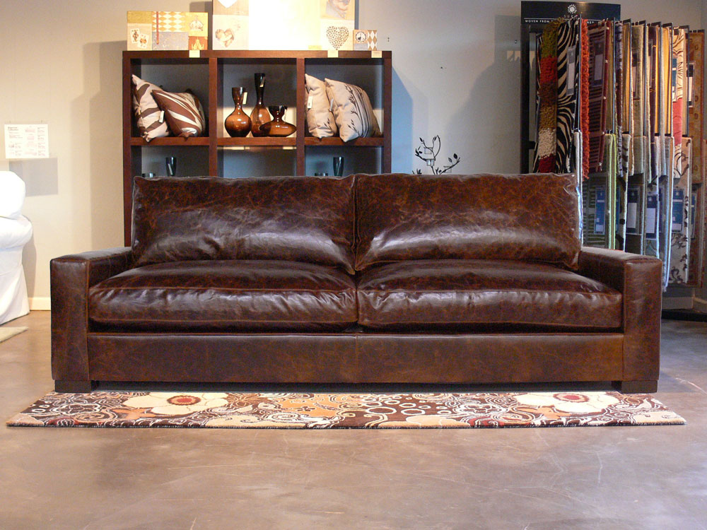 Awesome Richard Braxton Leather Furniture Set In Brompton Cocoa Evergreenethics Interior Chair Design Evergreenethicsorg
