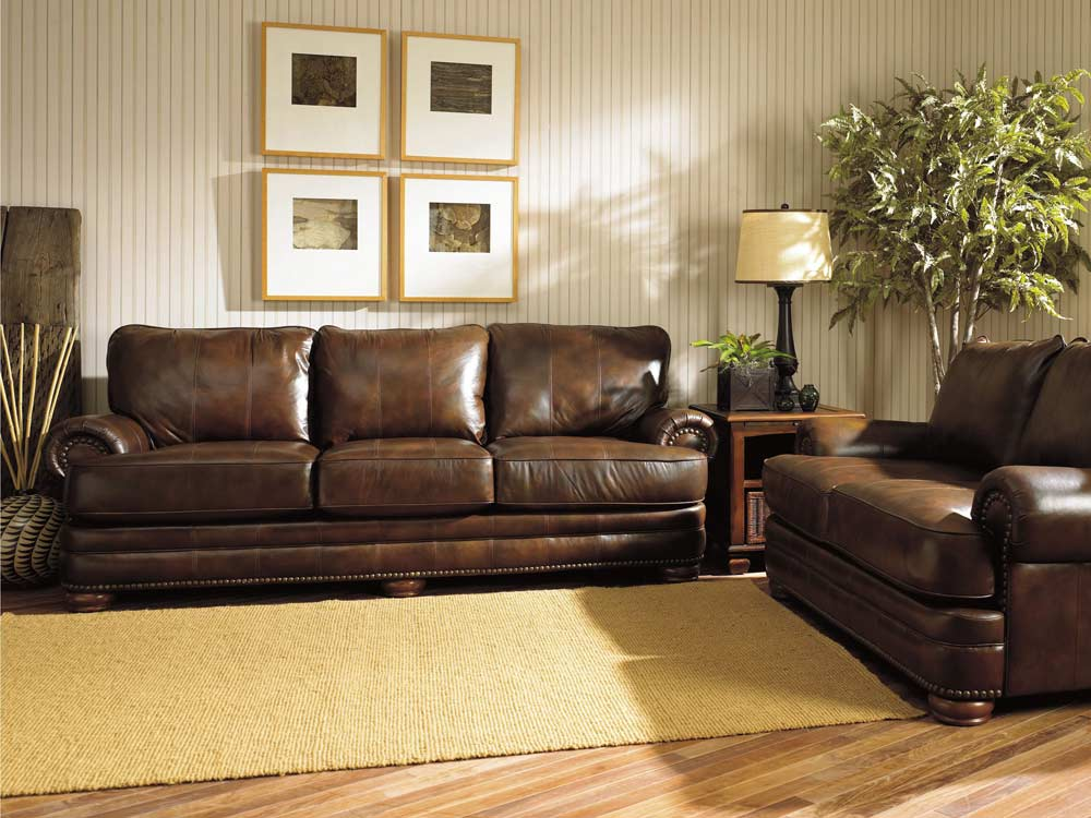 Stanton Leather Furniture Set By Lane Furniture 863