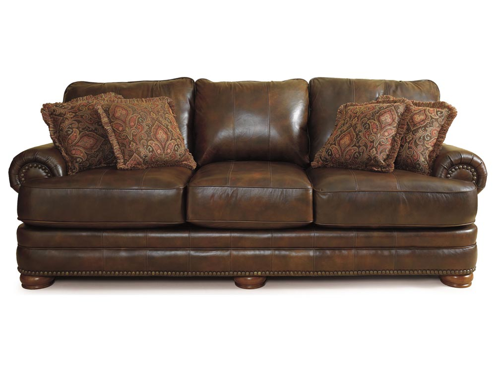 Stanton Leather Sofa By Lane Furniture 863 Leather