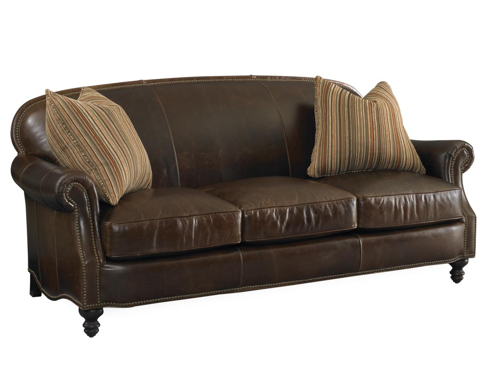 Solitude Leather Sofa By Bradington Young