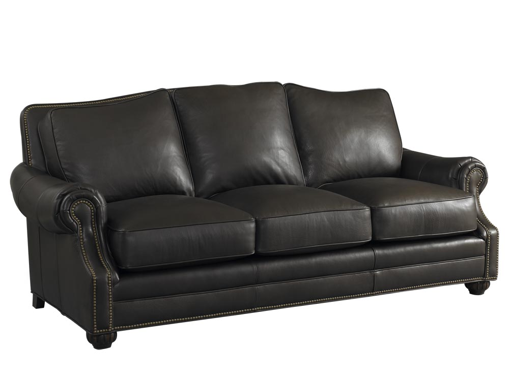 Dietrich Leather Sofa By Bradington Young