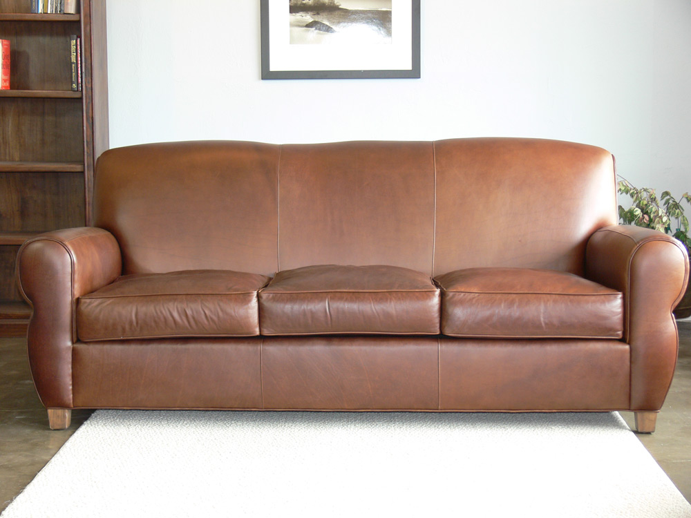 Midtown Top Grain Leather Sofa