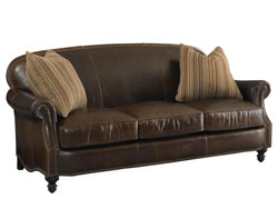 Solitude Leather Sofa by Bradington Young - 656