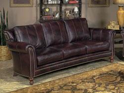 Richardson Leather Sofa by Bradington Young - 866