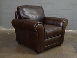 Mark Leather Chair by Luke Leather - Clearance Piece