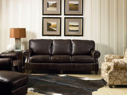 Emerson Leather Sofa by Lane Furniture - 702