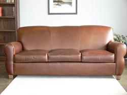 Midtown Top Grain Leather Sofa