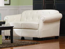 Kristyna Leather Loveseat by Coaster - 502552