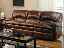 Walter Reclining Leather Sofa by Coaster - 600331
