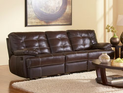 Dalton Reclining Leather Sofa by Leather Italia
