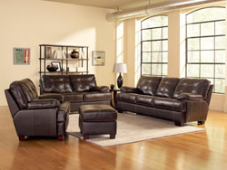 Dalton Leather Furniture Set by Leather Italia