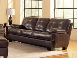 Dalton Leather Sofa by Leather Italia