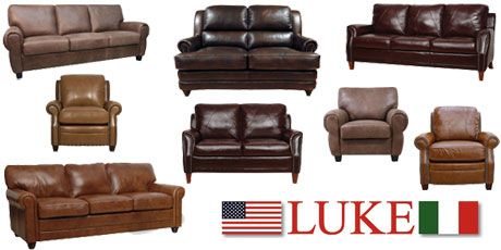 ... Luke Leather Furniture Makes. Every Style Offers One Leather Color That  Is Quick Ship And Leaves The Warehouse In 7 10 Days. Special Order Option  Colors ...