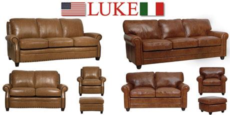 Luke Leather Furniture Sets