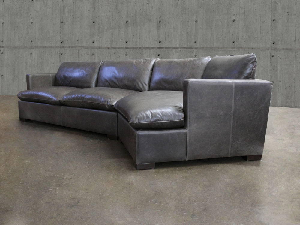 Leather sectional sofa with cuddler sofa menzilperde net for Affordable furniture reno nv
