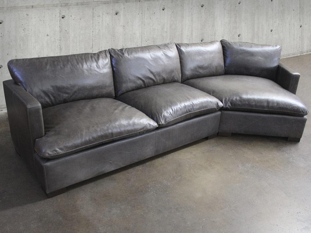 Superb Leather Sectional With Cuddler Creativecarmelina Interior Chair Design Creativecarmelinacom