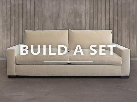 Braxton Fabric Sofa Set