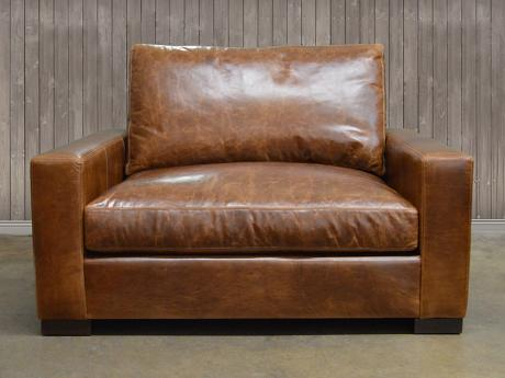 Braxton Leather Chair and a Half