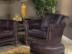 Richardson Leather Chair by Bradington Young - 866
