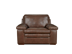 Grant Leather Chair by Leather Italia