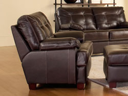 Dalton Leather Chair by Leather Italia