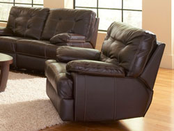 Dalton Leather Recliner by Leather Italia