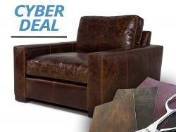 Braxton Leather Chair - Cyber Deal