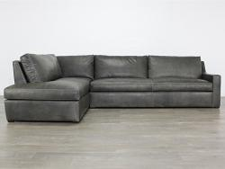 Julien Track Arm Bumper Sectional Sofa