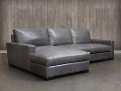 Braxton Leather Sofa Chaise Sectional :: Leather...
