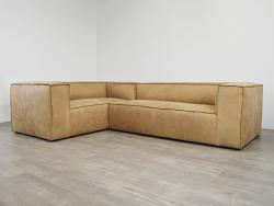Bonham Leather L Sectional Sofa