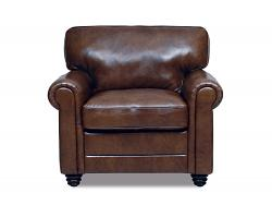Andrew Leather Chair by Luke Leather - 1 Only