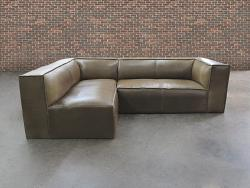 Bonham Leather Sofa Chaise Sectional