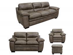 Tatum Leather Furniture Set by Luke Leather