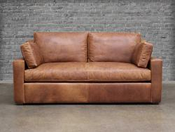 Julien Track Arm Leather Sofa