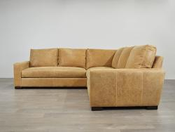 Braxton Leather Corner Sectional Sofa